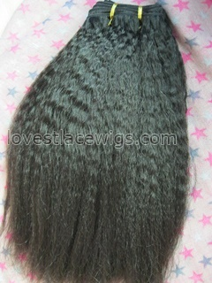 African kinky straight hair extension for sale