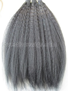 Hot sale kinky straight indian remy hair extension wholesale