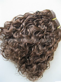 100% indian remy hair curly hair wefts
