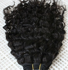 High quality Loose wave hair wefts made of 100% Malaysian virgin hair