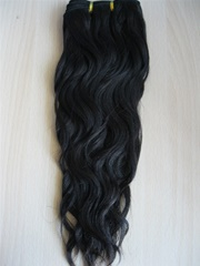 No shedding no tangling Malaysian virgin hair wefts yaki wavy