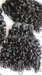 Fashion curly 100% Malaysian virgin hair extension