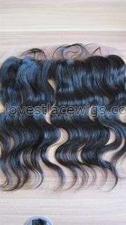 Body wave Chinese virgin hair 13*2 lace frontal