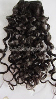 100% Malaysian virgin hair sexy curly machine made hair wefts
