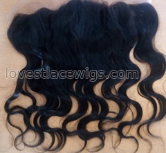 7A Malaysian virgin hair Ear To Ear full Lace Frontal Closure body wave Human Hair 13x4 13*4 Bleached Knots Swiss Lace