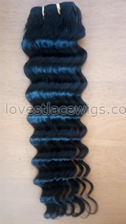 AAAAAA+ Brazilian Loose Deep Wave Virgin Hair Extensions Hair Weave Weft Wavy Hair Bundles Natural Black Dyeable