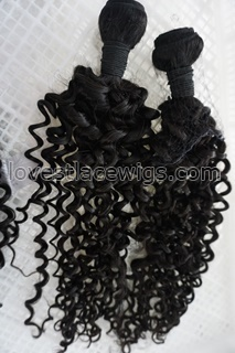 virgin kinky curl bundles natural hair extensions tight curly virgin Brazilian hair human raw unprocessed human weave weft