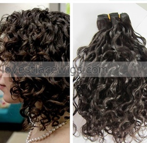 brazilian hair human weaves extensions peruvian malaysian indian cambodian curly bundles dyeable 8a best quality