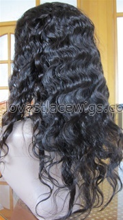 stock indian remy full lace wig body wave human hair