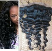 Factory Price 20 Inch Loose Wave Malaysian Lace Frontal Closure 13*4