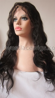 wholesale natural wave indian remy hair full lace wigs for lady