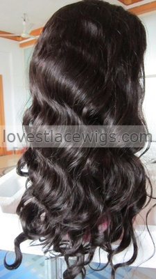 lace front human hair wig brazilian virgin silk top body wave glueless wigs for black women 130% density