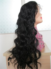 Body wave full lace Chinese virgin hair wigs in stock
