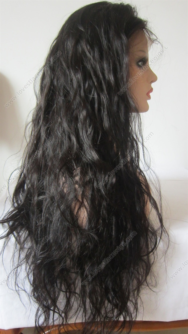 Chinese Human Hair Wigs Loose Wave Full Lace Human Hair Wigs for Black Women Unprocessed Virgin Human Hair Lace Wigs with Baby Hair