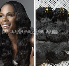 Unprocessed Brazilian Body Wave Hair Virgin Human Hair Extentions 5A remy hair weaving