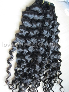 High quality chinese virgin hair natural color long hair weft wholesale
