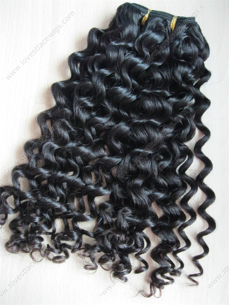 Hot Sale Chinese Virgin Hair Natural Color Long Hair Extension Water