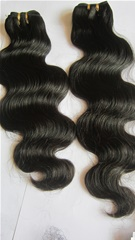 Cheap indian remy hair body wave hair wefts wholesale