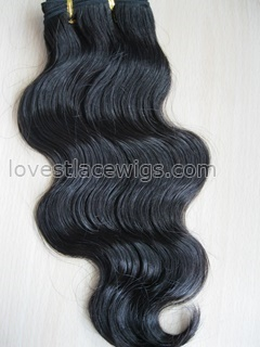 Body wave Chinese virgin hair weaving
