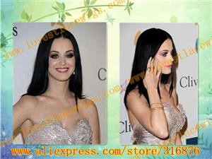 high quality 100% chinese vrigin hair natural straight long black full lace wig with baby in stock