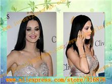 high quality 100% chinese vrigin hair natural straight long black full lace wig with baby hair in stock